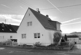 Einfamilienhaus-Holzappel